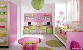 Small Picture Girls Bedroom Color Interior Home Design