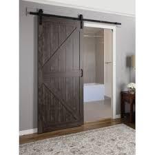 interior sliding doors. Fine Interior Continental MDF Engineered Wood 1 Panel Interior Barn Door On Sliding Doors A