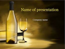 Wine Powerpoint Template White Wine Powerpoint Template Presentation Alcohol Powerpoint