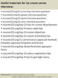 15 resume objectives for servers