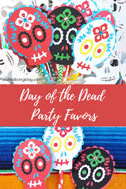 make these easy diy favors for decorations for your day of the dead party by