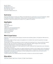 Super Resume Beauteous Free Resume Template Super Resume Supervisor Resume Template 28 Free
