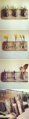 diy ideas reuse your glassware at home jar scrap and driftwood