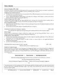 Sample Executive Summary Resume Resume Executive Summary Sample