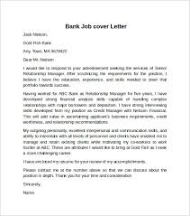 Gallery Of Cover Letter Example For Job 10 Download Free Documents