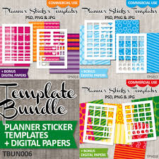 Diy Plan Stickers Starter Kit Templates Vol 6 Erin Condren Life