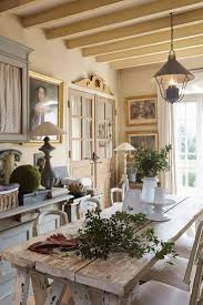 Soft hues create restful harmony throughout the kitchen in this charming  cottage just outside of Paris  French FarmhouseFrench ...