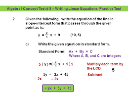 write an equation of a line given two points and slope jennarocca