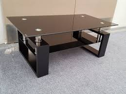 large glass broken tempered coffee table set replaceme