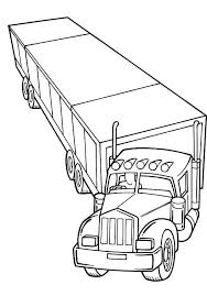 Small Picture Trailer Semi Truck Coloring Page NetArt