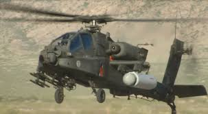 Us Army Tests Laser On Apache Helicopter