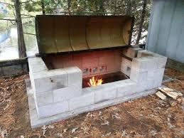 fire pit cinder block