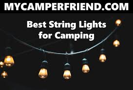 Best Camping String Lights Pin On My Camper Friend Misc
