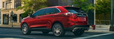2019 Ford Edge Lineup Exterior Color Option Gallery