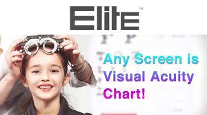 Elite Digital Visual Acuity Chart Youtube