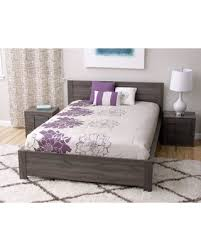 Carson Carrington Carson Carrington Porsgrunn Grey Wood Queen-size Bedroom Set (Maya Queen-Size Bed and 2 nightstands) from Overstock   BHG.com Shop