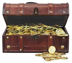 amazoncom vintiquewise(tm) decorative treasure box  wooden
