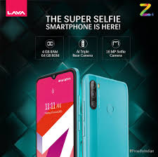 Lava Z4 comes with a 16MP front camera ...