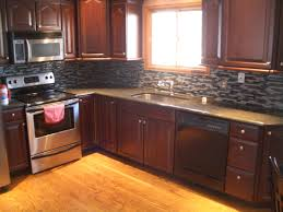 Mosaic Kitchen Floor Kitchen Backsplash Ideas For Dark Cabinets Mosaic Tiles Laminate