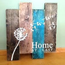 wood pallet wall decor ideas art ion photograph at last rustic wooden projects