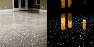 dark polished concrete floor.  Concrete Danamac Glow In The Dark Polished Concrete Floor On Dark Polished Concrete Floor