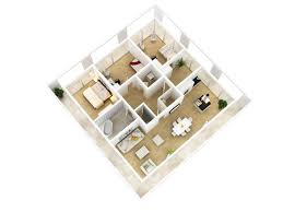 Casstudio   Spacious House Apartment Floor Plans for Your Next    Very bright and spacious second flat of a house for a growing family where all of the three bedrooms have huge windows for a spectacular nature view