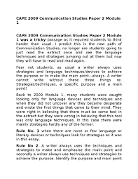 communication studies by jahnoi anderson issuu 29392134 cape 2009 communication studies paper 2 module