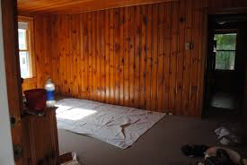 to paint knotty pine or not paint knotty pine that is the question