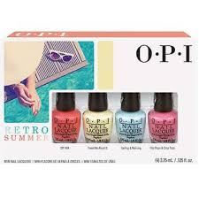 Opi Gel Color Chart 2016 Opi Retro Summer Collection 2016 Mini Nail Lacquer 4 Piece