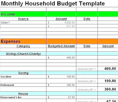 15 Home Budget Worksheet Sample Paystub