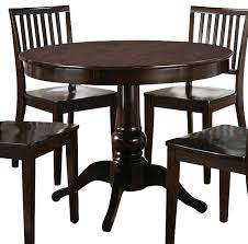 espresso round dining table silver round dining table in dark espresso dining tables espresso dining table