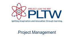 Pltw Gantt Chart Project Management