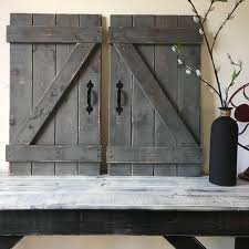 decor over the door wall decor appealing barn door decor set of large rustic over the