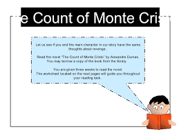 example of the count of monte cristo essay the count of monte cristo writework