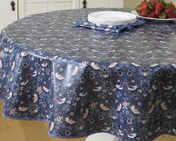 the william morris strawberry thief 58 147 cm round pvc oilcloth concerning oilcloth round tablecloth prepare