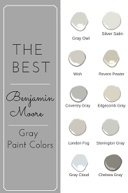 Light Grey Paint Benjamin Moore The Best Benjamin Moore Gray Paint Colors More Reno Ideas