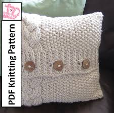 Free Knitted Pillow Patterns