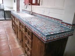surprising tile kitchen countertop rustic kitchen counter tile kitchen countertops pros and cons