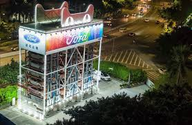 Car Vending Machine Dallas Gorgeous Ford And Alibaba Team Up To Create Giant Car Vending Machine GAS