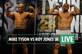 Mike Tyson vs Roy Jones Jr LIVE: UK start time TONIGHT, stream, TV channel,  rules and undercard as boxing legends fight