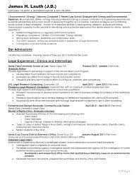 Experienced Trial Attorney Resume