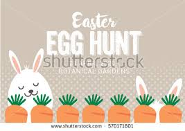 easter egg hunt template easter egg hunt poster invitation template stock photo photo