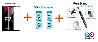 WALK THROUGH <b>3Pcs</b> Combo 6D <b>Tempered Glass</b> + Wire ...