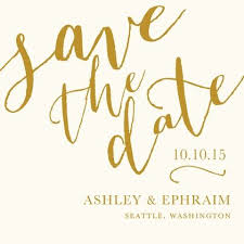 Save The Date No Photo Save The Date No Picture Needed Save The Date Cards