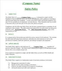 sample safety plan construction safety plan template 17 free word pdf documents