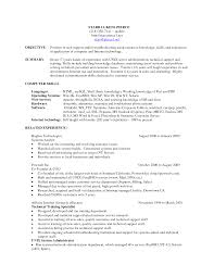 Technical Support Resume Objective Examples Lovely Technical Support