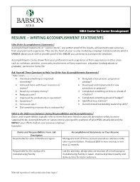 Achievements Resume Example How To Write Your Achievements In Resume Achievements To Put On A 15