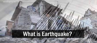 The shaking of the ground caused by the sudden release of energy stored in the rocks within earth. What Is Earthquake Geology Page