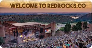 Red Rocks Amphitheatre Seating Chart All Reserved Red Rocks Amphitheatre 2019 Events Information