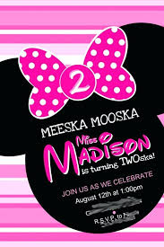 minnie mouse 2nd birthday invitations packed with sample best ie mouse birthday invitations template to prepare amazing diy minnie mouse 2nd birthday
